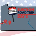 Lincoln Highway election road trip Day 3