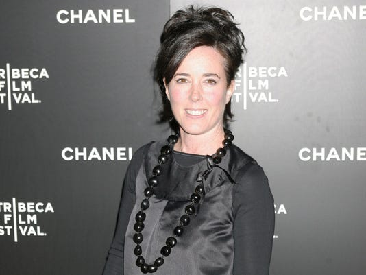 EPA (FILE) USA PEOPLE KATE SPADE OBIT HUM CINEMA FASHION PEOPLE USA