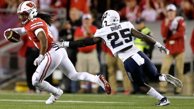 Safety D'Cota Dixon is the lone returning starter in Wisconsin's secondary. Who will join him?