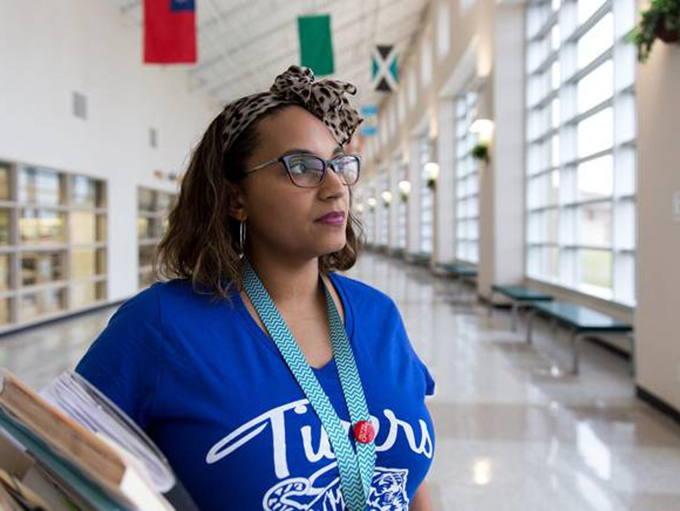 After losing 11 school days to Hurricane Harvey, Tiffany