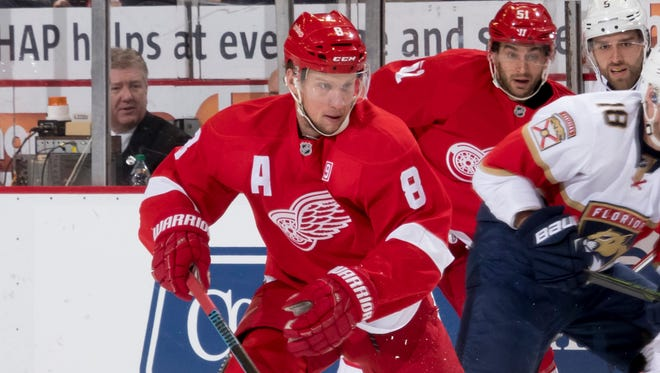 Detroit left wing Justin Abdelkader will miss two to four weeks with a strained MCL, Red Wings GM Ken Holland said Friday.