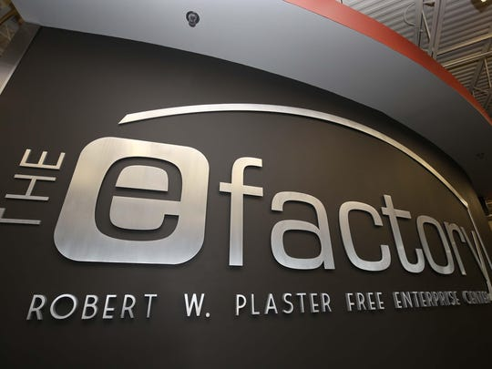 The entrance of the eFactory.