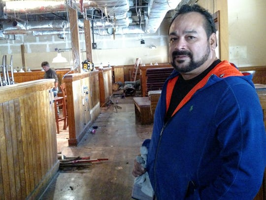 Los Tres Amigos owner Ruffy Ramirez is working to renovate