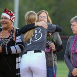 Brown shines, honors aunt at Strike Out Cancer game as Tate breaks record with $23K in donations