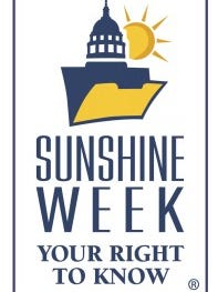 March 15-21 is Sunshine Week, an annual event that focuses on the importance of public access to government information.