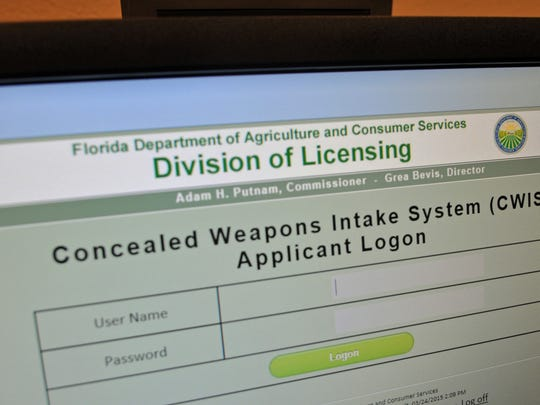 Starting Wednesday, Brevard residents can apply in person for concealed weapons permits at the Brevard County Tax Collector's Office on Merritt Island, at 1605 N. Courtenay Parkway.