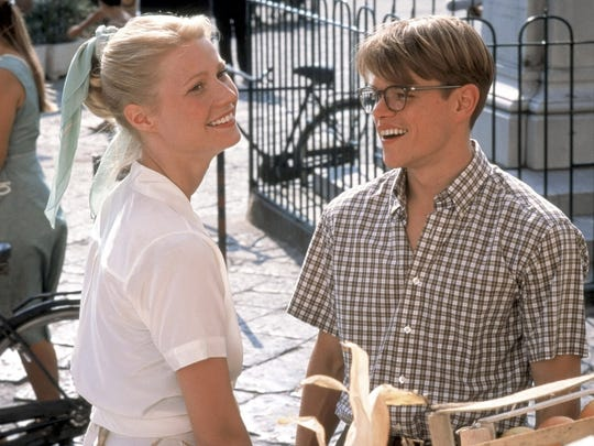 Gwyneth Paltrow and Matt Damon starred together in 1999's 'The Talented Mr. Ripley.'