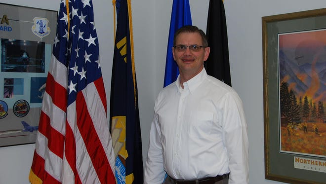 James Schneider recently retired from the Montana Army National Guard and is looking for a job in the civilian sector. Employer Support of the Guard and Reserve is helping him with his resume.