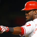 Phillies outfielder Odubel Herrera was named to the NL All-Star team on Tuesday.