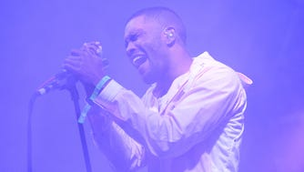 Frank Ocean has his first No. 1 album with 'Blonde.'