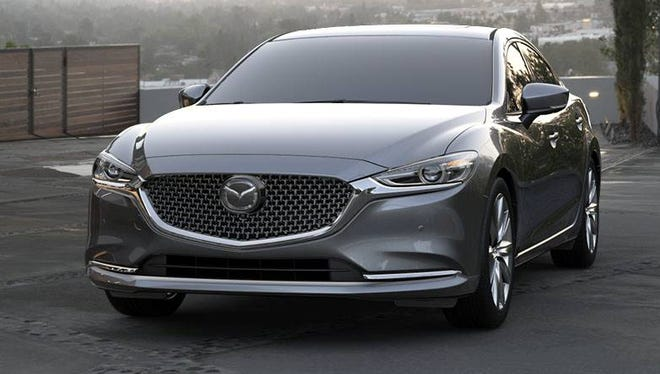 The 2018 Mazda 6's 2.5-liter, turbocharged inline-4 cylinder engine produces 250 horsepower and 310 pound-feettorque.