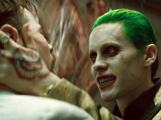 """Jared Leto in a scene from """"Suicide Squad."""""""
