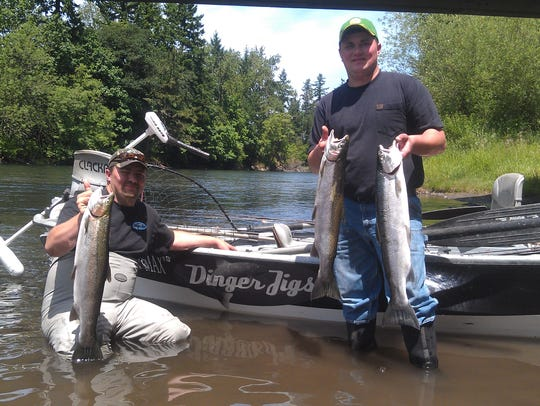 Anglers are worried about losing steelhead fishing on the North Santiam River.