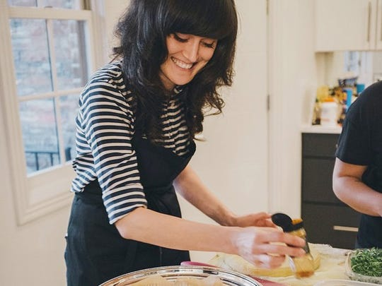 Chef Jess Rice will teach five raw foods classes.