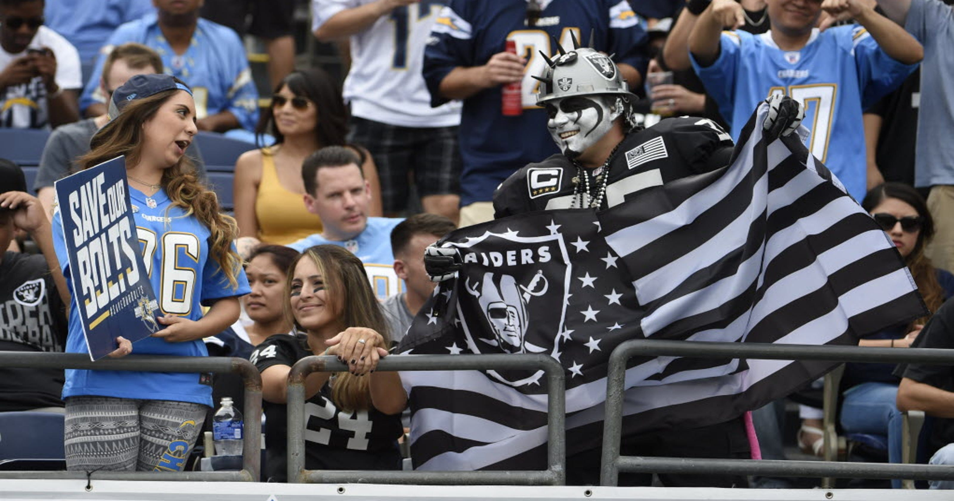 Chargers fans feel like they are falling into Black Hole with possible move a0824ab763ff