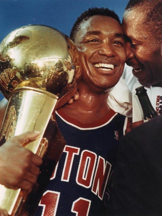 Detroit Pistons' Bad Boys: Ranking NBA's greatest teams