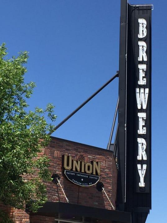 The Union Restaurant Carson City_Sign