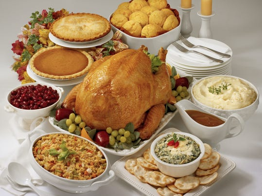 thanksgiving dinner menu pdf