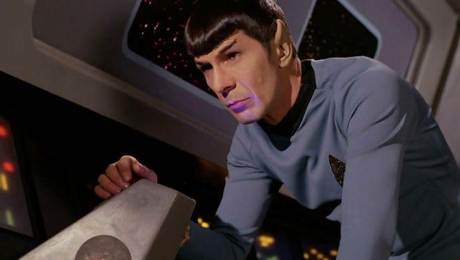 Leonard Nimoy as Mr. Spock in 'Star Trek'