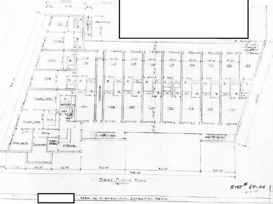 Federal agents obtained blueprints of Victory Inn before raiding the motel Jan. 12, 2017.