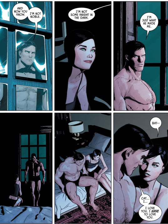 Batman Gets Catwoman S Answer To His Marriage Proposal