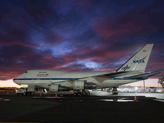 Two Mississippi teachers will fly aboard NASA's SOFIA plane, a specially designed Boeing 747SP carrying a 100-inch diameter telescope. The plane can reach the stratosphere, giving scientists clear views of the universe.