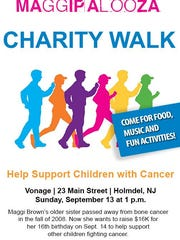 Details on the upcoming charity walk.