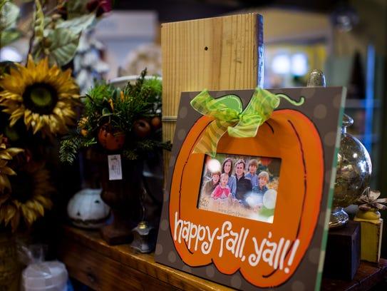 Fall items at Caroline & Company in Lafayette, La.,