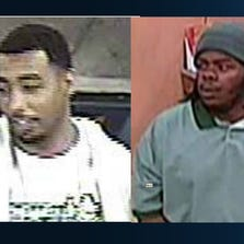 Sacramento County sheriff's investigators are looking for these two men in connection to a identity theft ring.