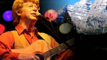 """Jim Curry and his band are scheduled to perform """"Take me Home: The Music of John Denver"""" on Feb. 19."""