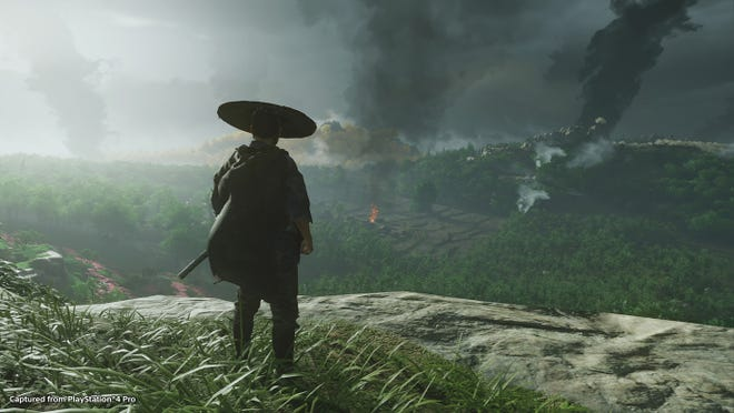 """""""Ghost of Tsushima"""" is coming to the PlayStation 4 in July."""