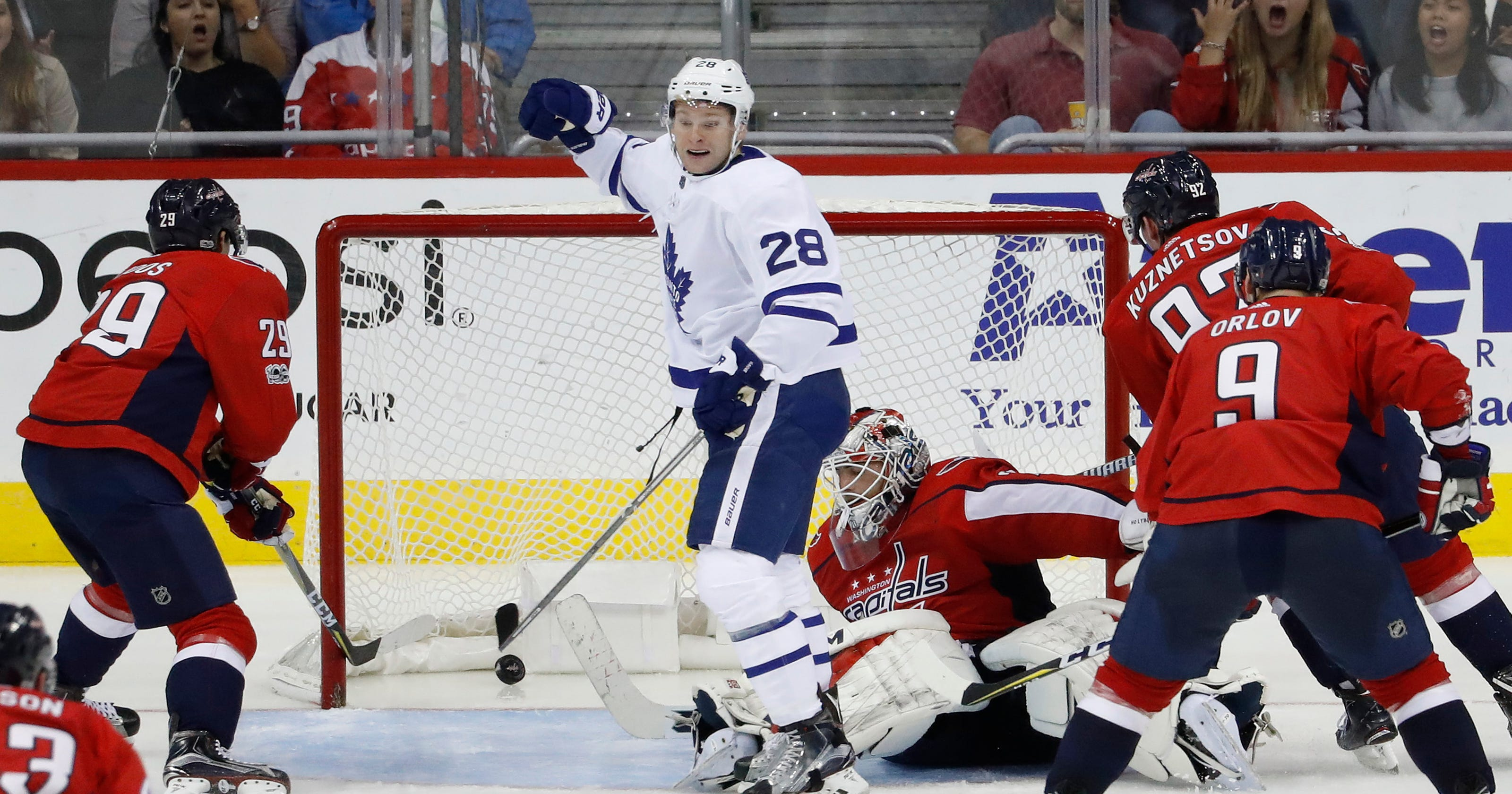 636ef58e457 Maple Leafs shut out Capitals in playoff rematch