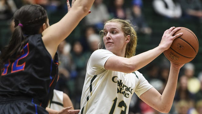 CSU's Ellen Nystrom will be one of the primary ball-handlers after the graduation of AJ Newton and Gritt Ryder.