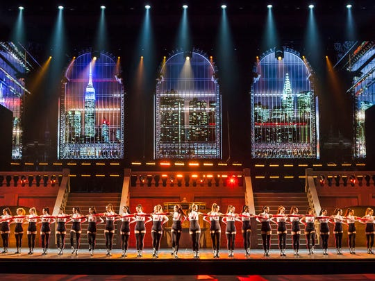 "The Rockettes rehearse the opening number, set to Taylor Swift's ""Welcome To New York."""