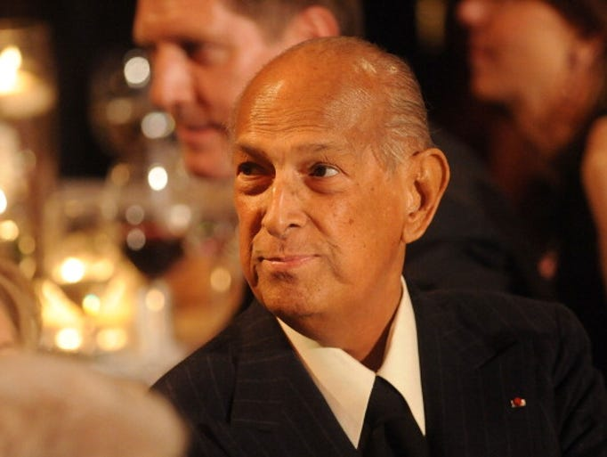 NEW YORK, NY - APRIL 24:  Designer Oscar de la Renta