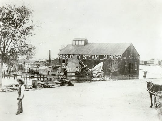PASS CITY STEAM LAUNDRY, FLOOD