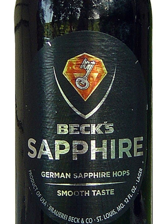 Beer Man: Smooth Beck's Sapphire highlights its hops