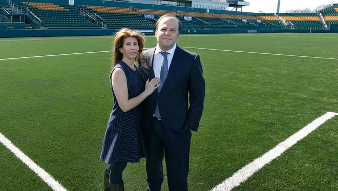 Rhinos owners Wendy and David Dworkin bought the team in January of 2016, but the first season didn't go as well as they hoped.