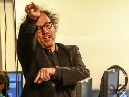 Tod Machover, composer and professor at Massachusetts