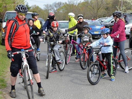 A family bike ride will kick off this year's Sustainable Cherry Hill Earth Festival.