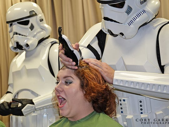 The third annual St. Baldrick's Day event will be held
