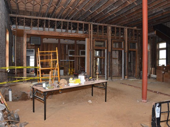 An interior view of The Fire Hub, a new project launched