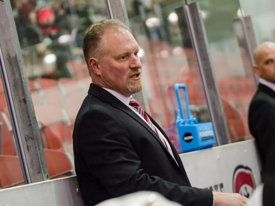 After five seasons as St. Cloud State women's hockey coach, Eric Rud is leaving to become an assistant coach for the men's team at the University of Miami in Ohio.