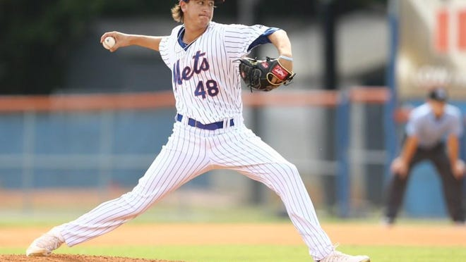 The New York Mets released University High grad Nate Peden last week. Peden, 21, was a 13th-round selection back in 2017.