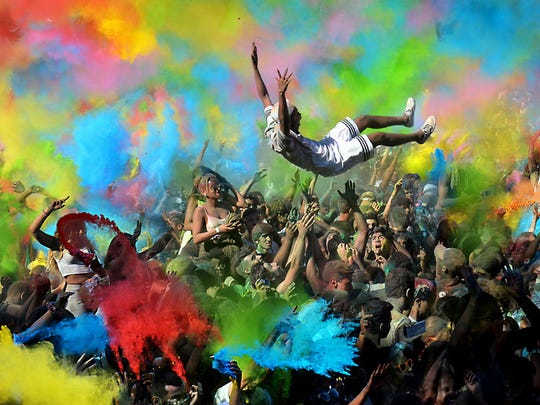 """""""Flying in color"""" by Joao Taborda of Portugal will be in The Wilmington International Exhibition of Photography."""