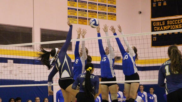 Hen Hud beat Ardsley in the Section 1 Class B finals
