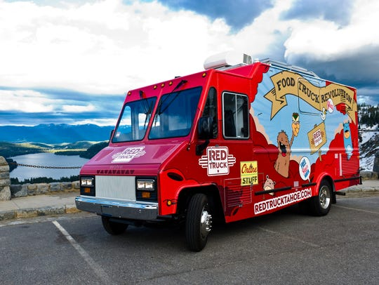 Red Truck food truck is based in Truckee, Calif., about