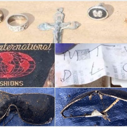 LCPD has released photos of several pieces of evidence