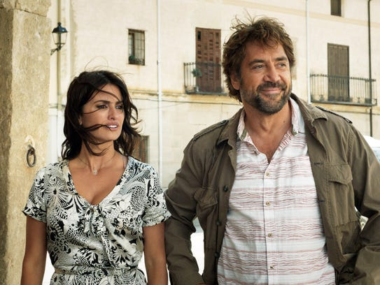 Penélope Cruz and Javier Bardem play old flames in