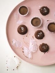 Delightful almond butter cups